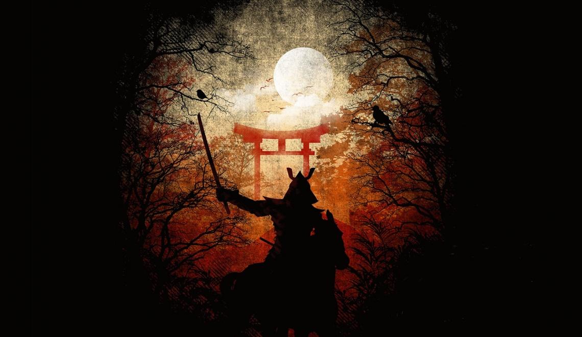 Japán a szamurájkorban – Novellacímek