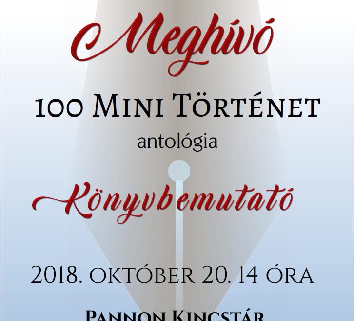 100 Mini Történet – Könyvbemutató