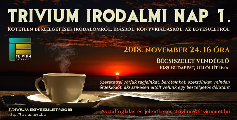 Trivium Irodalmi Nap 1.