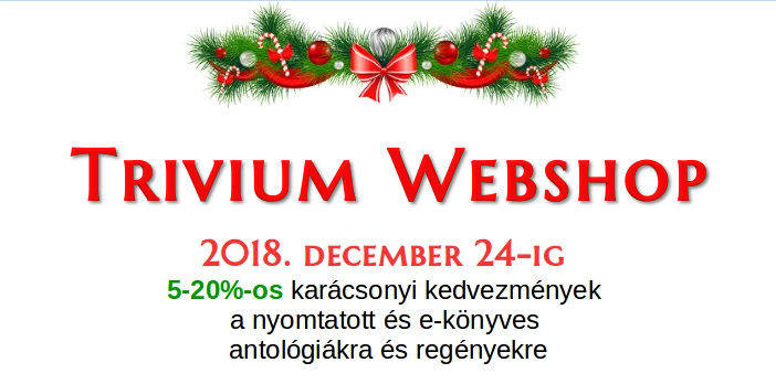 Karácsonyi kedvezmények a Trivium Webshopban